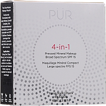 Fragrances, Perfumes, Cosmetics Mineral Foundation - Pur 4-In-1 Pressed Mineral Makeup SPF15