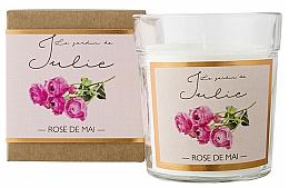 Fragrances, Perfumes, Cosmetics May Rose Scented Candle - Ambientair Le Jardin de Julie Rose de Mai
