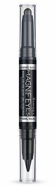 Eyeshadow & Pencil - Rimmel Magnif Eyes Eye Shadow And Kohl Kajal