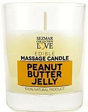 Fragrances, Perfumes, Cosmetics Natural Massage Peanut Butter Jelly Candle - Sezmar Collection Peanut Butter Jelly