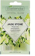 Fragrances, Perfumes, Cosmetics Moisturizing & Smoothing Face Mask - Bielenda Crystal Glow Jade Stone Face Mask