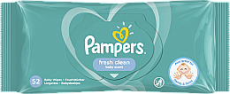 "Fragrances, Perfumes, Cosmetics Baby Wet Wipes ""Baby Fresh Clean"", 52 pcs - Pampers"