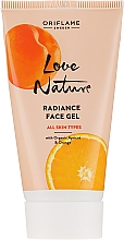 """Fragrances, Perfumes, Cosmetics Toning Face Gel """"Apricot and Orange"""" - Oriflame Love Nature Radiance Face Gel"""