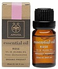 "Fragrances, Perfumes, Cosmetics Essential Oil ""Rose"" - Apivita Aromatherapy Organic Rose Oil"