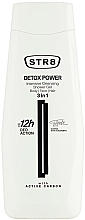 Fragrances, Perfumes, Cosmetics Shower Gel 3 in 1 - STR8 Detox Power Intensive Cleansing Shower Gel