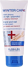 Fragrances, Perfumes, Cosmetics Hand and Nail Winter Cream - Floslek Winter Care Hand And Nail Winter Cream