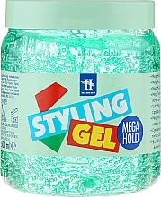 Fragrances, Perfumes, Cosmetics Highlighting Hair Gel - Tenex Styling Wetlook Green Gel