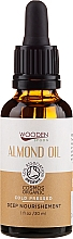 Fragrances, Perfumes, Cosmetics Almond Oil - Wooden Spoon Almond Oil