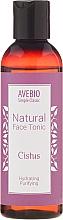 Fragrances, Perfumes, Cosmetics Natural Face Tonic - Avebio Natural Face Tonic Cistus