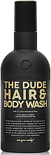 Fragrances, Perfumes, Cosmetics Shower Gel Shampoo - Waterclouds The Dude Hair And Body Wash