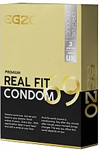 Fragrances, Perfumes, Cosmetics Anatomical Condoms - Egzo Real Fit