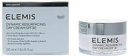 """Fragrances, Perfumes, Cosmetics Facial Day Cream """"Dynamic Resurfacing"""" - Elemis Dynamic Resurfacing Day Cream SPF 30"""