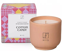 """Fragrances, Perfumes, Cosmetics Soy Candle """"Cotton Candy"""" - Mys Cotton Candy Candle"""