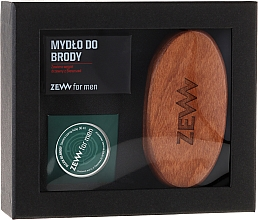 Fragrances, Perfumes, Cosmetics Set - Zew For Men Set (oil/30ml + soap/85ml + brush)