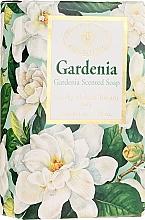 """Fragrances, Perfumes, Cosmetics Natural Soap """"Gardenia"""" - Saponificio Artigianale Fiorentino Masaccio Gardenia Soap"""