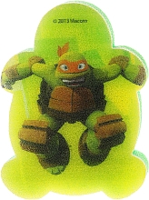 "Fragrances, Perfumes, Cosmetics Kids Bath Sponge ""Ninja Turtles"" Michelangelo 3 - Suavipiel Turtles Bath Sponge"