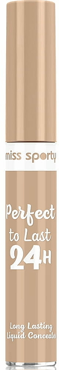 Face Concealer - Miss Sporty Perfect To Last 24h Long Lasting Liquid Concealer