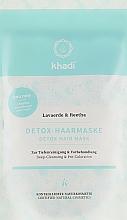 Fragrances, Perfumes, Cosmetics Cleansing & Detox Hair Mask - Khadi Detox Hair Mask