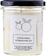 "Fragrances, Perfumes, Cosmetics Candle ""Orange"" - Hagi"