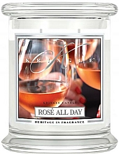 Fragrances, Perfumes, Cosmetics Scented Candle in a Jar - Kringle Candle Rose All Day