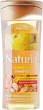 Fragrances, Perfumes, Cosmetics Biosandar & Amber Hair Shampoo - Joanna Naturia Shampoo Biosandar And Amber