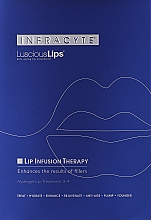 Fragrances, Perfumes, Cosmetics Hydrogel Lip Mask - Infracyte Luscious Lips Anti-Aging Lip Treatment