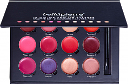 Fragrances, Perfumes, Cosmetics Lip Makeup Palette - Bellapierre 12 Color Pro Lip Palette