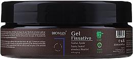 Fragrances, Perfumes, Cosmetics Fixative Hair Gel - BioMAN Fixative Gel