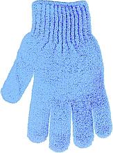 Fragrances, Perfumes, Cosmetics Bath Sponge Glove, 30178, blue  - Top Choice