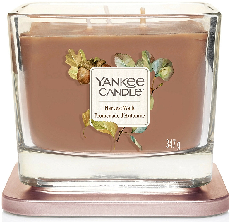 Scented Candle - Yankee Candle Elevation Harvest Walk