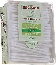 Fragrances, Perfumes, Cosmetics Organic Cotton Buds, 200 pcs - Bocoton Bio