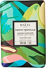Fragrances, Perfumes, Cosmetics Toilet Soap - Baija Sieste Tropicale Perfumed Soap