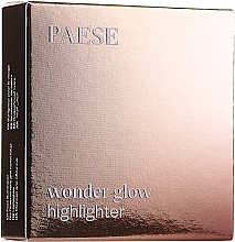 Fragrances, Perfumes, Cosmetics Face & Body Compact Highlighter - Paese Wonder Glow Highlighter