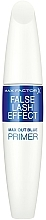 Fragrances, Perfumes, Cosmetics Blue Pigment Lash Primer - Max Factor False Lash Effect Primer