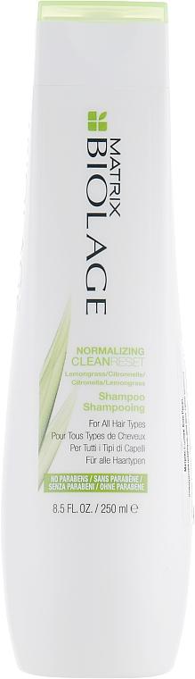 Normalizing Hair Shampoo - Biolage Normalizing CleanReset Shampoo