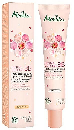 BB Cream - Melvita Nectar De Roses Organic BB Cream