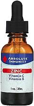 "Fragrances, Perfumes, Cosmetics Dietary Supplement ""Immunity Zinc"" - Absolute Nutrition Immunity Zinc With Vitamin C & Vitamin B"