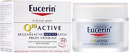 Fragrances, Perfumes, Cosmetics Anti-Aging Facial Night Cream - Eucerin Q10 Active Night Cream