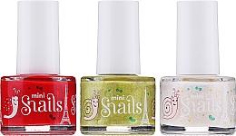 Fragrances, Perfumes, Cosmetics Nail Polish Set - Snails Festive Mini