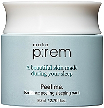 Fragrances, Perfumes, Cosmetics PHA Night Cream Mask  - Make P rem Radiance Peeling Sleeping Pack