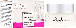 Fragrances, Perfumes, Cosmetics Anti-Aging Day Cream with Cannabis Extract - Sostar Cannabidiol Anti Ageing Day Cream With Cannabis Extract