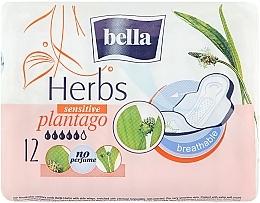 Fragrances, Perfumes, Cosmetics Pantiliners Panty Herbs Plantago, 12 pcs - Bella