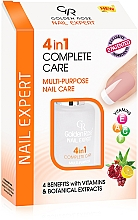 Fragrances, Perfumes, Cosmetics Nail Complex Care - Golden Rose Nail Expert 4 in 1 Complete Care
