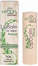 Natural Lip Balm - Vegan Natural Lip Balm For Vegan Natural — photo N2