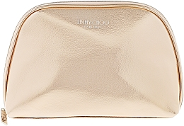 Fragrances, Perfumes, Cosmetics Makeup Bag, gold - Jimmy Choo Make Up Pouch Gold