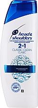 Shampoo - Head & Shoulders Clasic Clean 2in1 Shampoo — photo N1