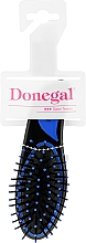 Fragrances, Perfumes, Cosmetics Hair Brush, small, 9002, blue - Donegal