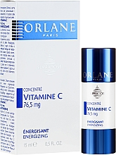 Fragrances, Perfumes, Cosmetics Stimulating Concentrated Vitamin C Face Serum - Orlane Supradose Vitamine C Energizing Concentre