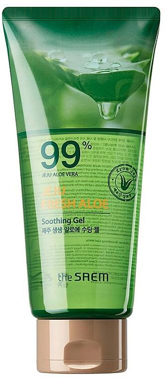 Multi-Purpose Aloe Gel - The Saem Jeju Fresh Aloe Soothing Gel 99% (tube)