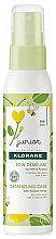Fragrances, Perfumes, Cosmetics Conditioner Spray - KloraneJunior Detangling Care Spray Acacia Honey